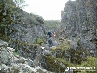 Cascadas del Purgatorio - Valle del Paular